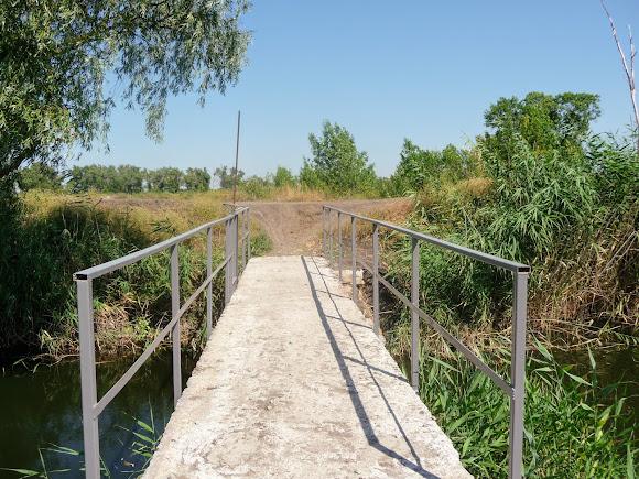 Річка Вовча. Шлюзи