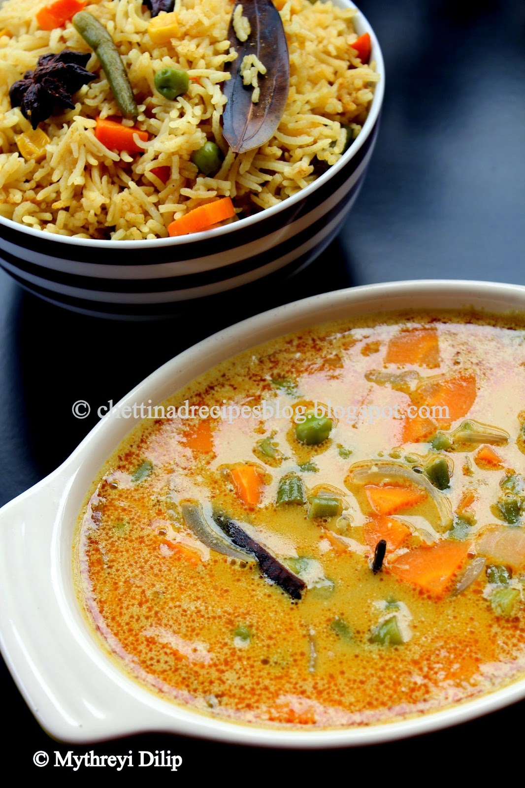 Chettinad Vegetable Kurma Recipe Kaikari Kurma