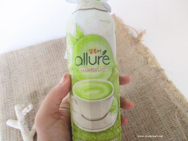 Allure Green Tea Latte Kemasan Botol