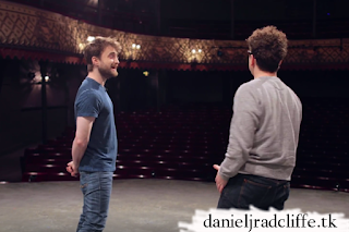 Rosencrantz and Guildenstern are Dead: Tour of the theatre with Daniel Radcliffe & Joshua McGuire