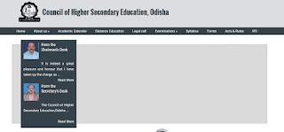 CHSE Odisha +2 Exam Time Table 2019