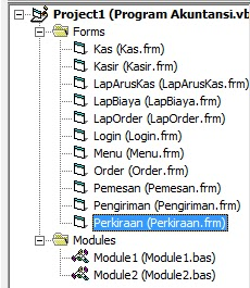 Program Akuntansi Lengkap Di Visual Basic 6.0