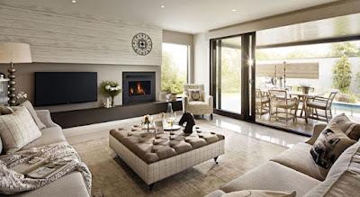Inspirasi Interior Rumah Nuansa Klasik Modern