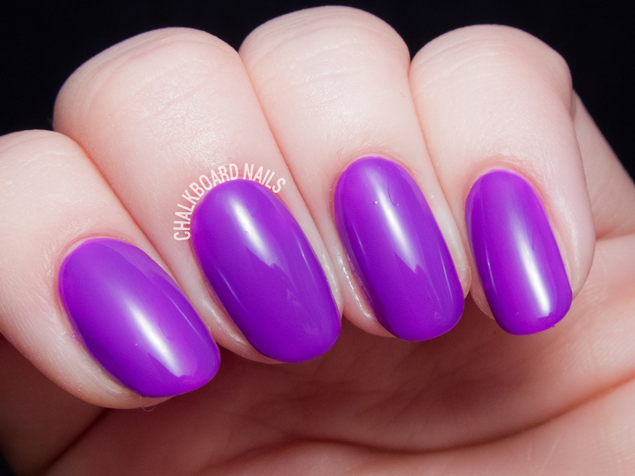 China Glaze PLUR-ple via @chalkboardnails
