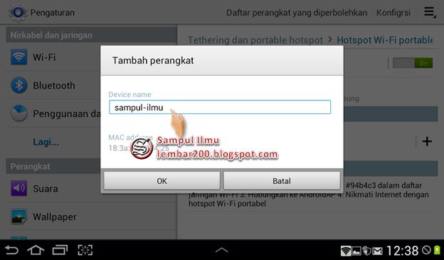 Cara Mudah Dan Praktis Membatasi Pengguna WI-FI di Android