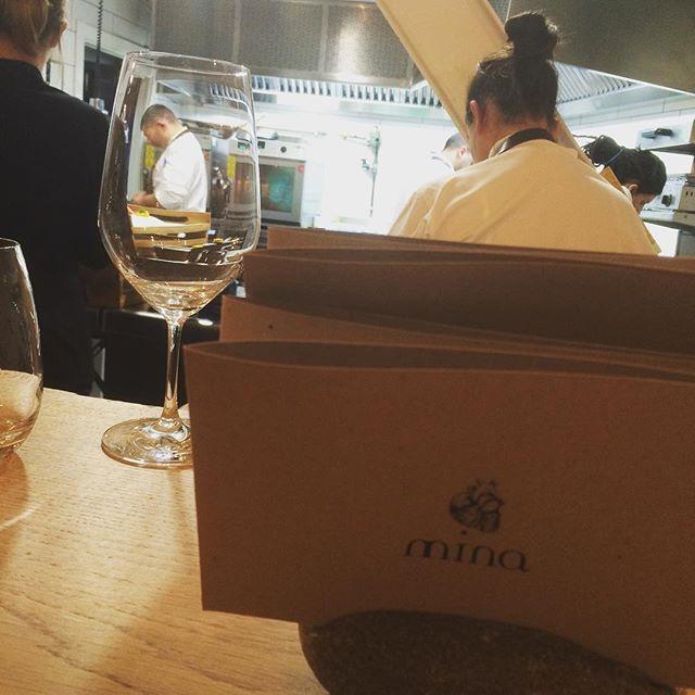 Menú degustación en Restaurante Mina Bilbao | turistacompulsiva.com