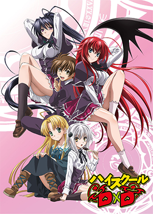 High School DxD [12/12] [HD] [MEGA]