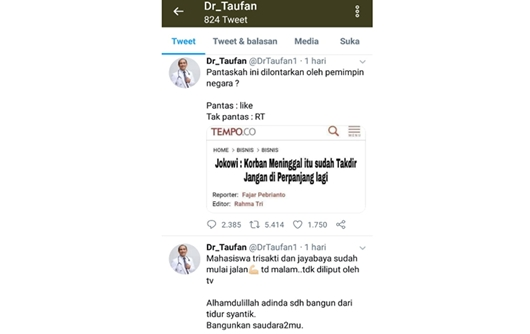 Duh, Dokter Spesialis pun Sebar Hoax Soal Jokowi, Ini Kata Mbah Mijan