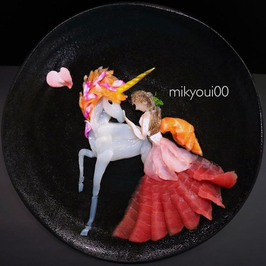 16-Unicorn-Mikyou-Sashimi-Art-in-Fish-Food-Art-www-designstack-co