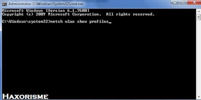 Kode Hack Wifi Pada CMD