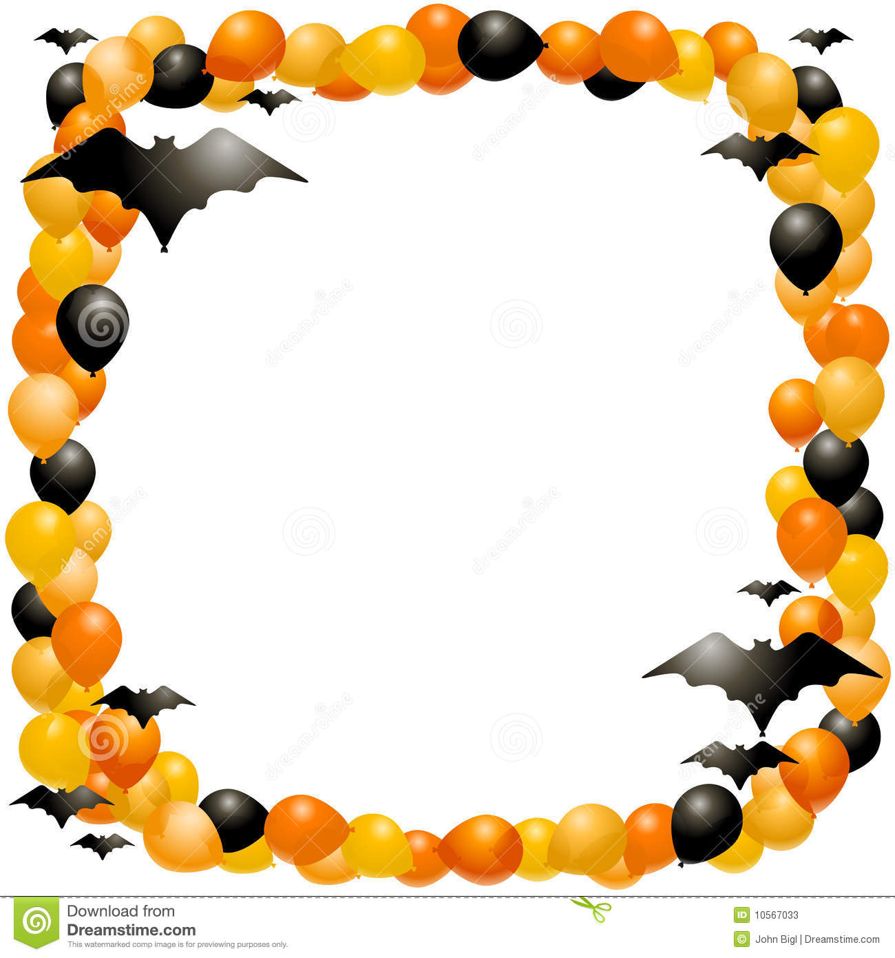 download free printable halloween border frame images pics clipart