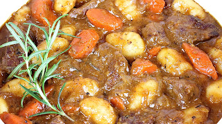 Beef and Gnocchi Stew