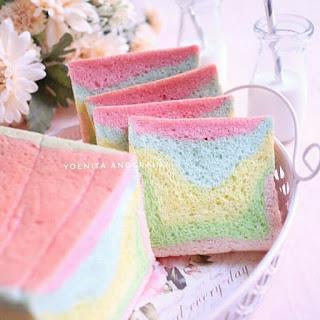Ide Resep Masak Roti Tawar Pelangi Colourful