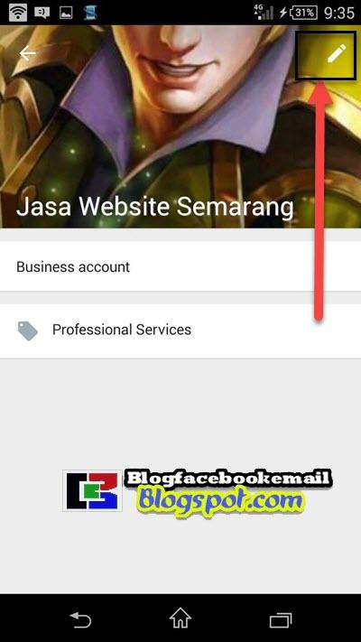 mengatur informasi profil whatsapp business