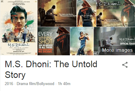 Download MS Dhoni The Untold Story(2016) 720p 1080p Full Movie in HD Blu-Ray