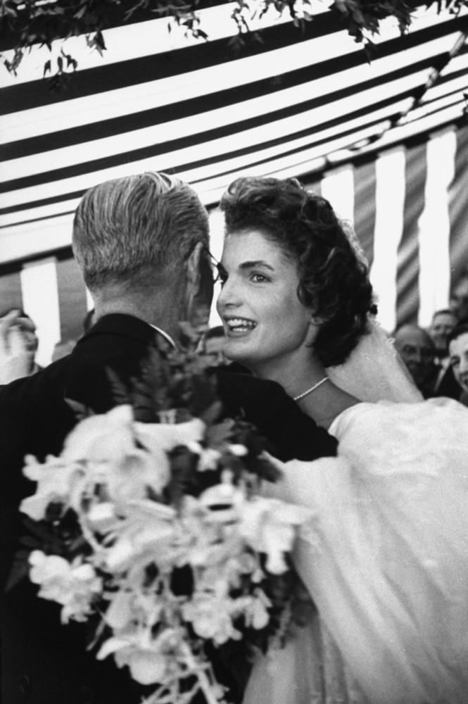 casamento de John F. Kennedy e Jacqueline Bouvier, 1953