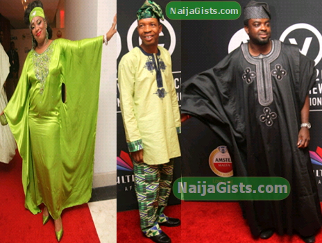 nigerian celebrities native wears african magic