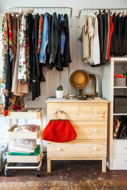 """Como fazer um """"closet"""" cheio de charme"""
