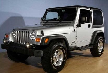 Mobil Jeep Wrangler Sahara