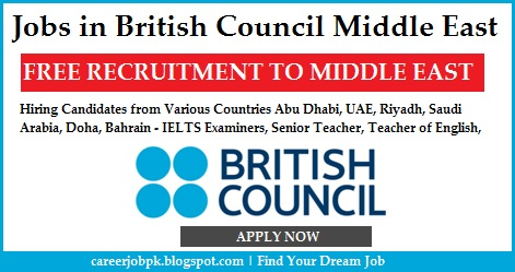 Jobs in British Council Middle East