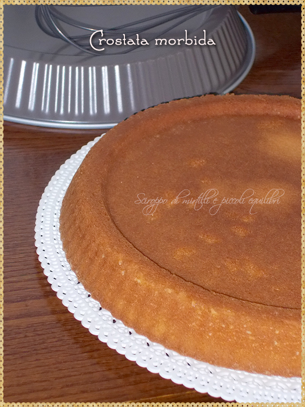 Crostata morbida, base
