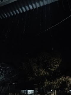 hujan, malam