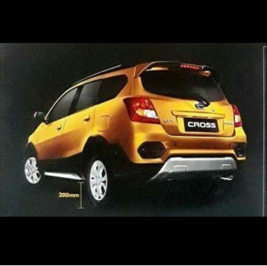 Wah Ground Clearance Datsun Go Cross Bocor Nih Berita Otomotif