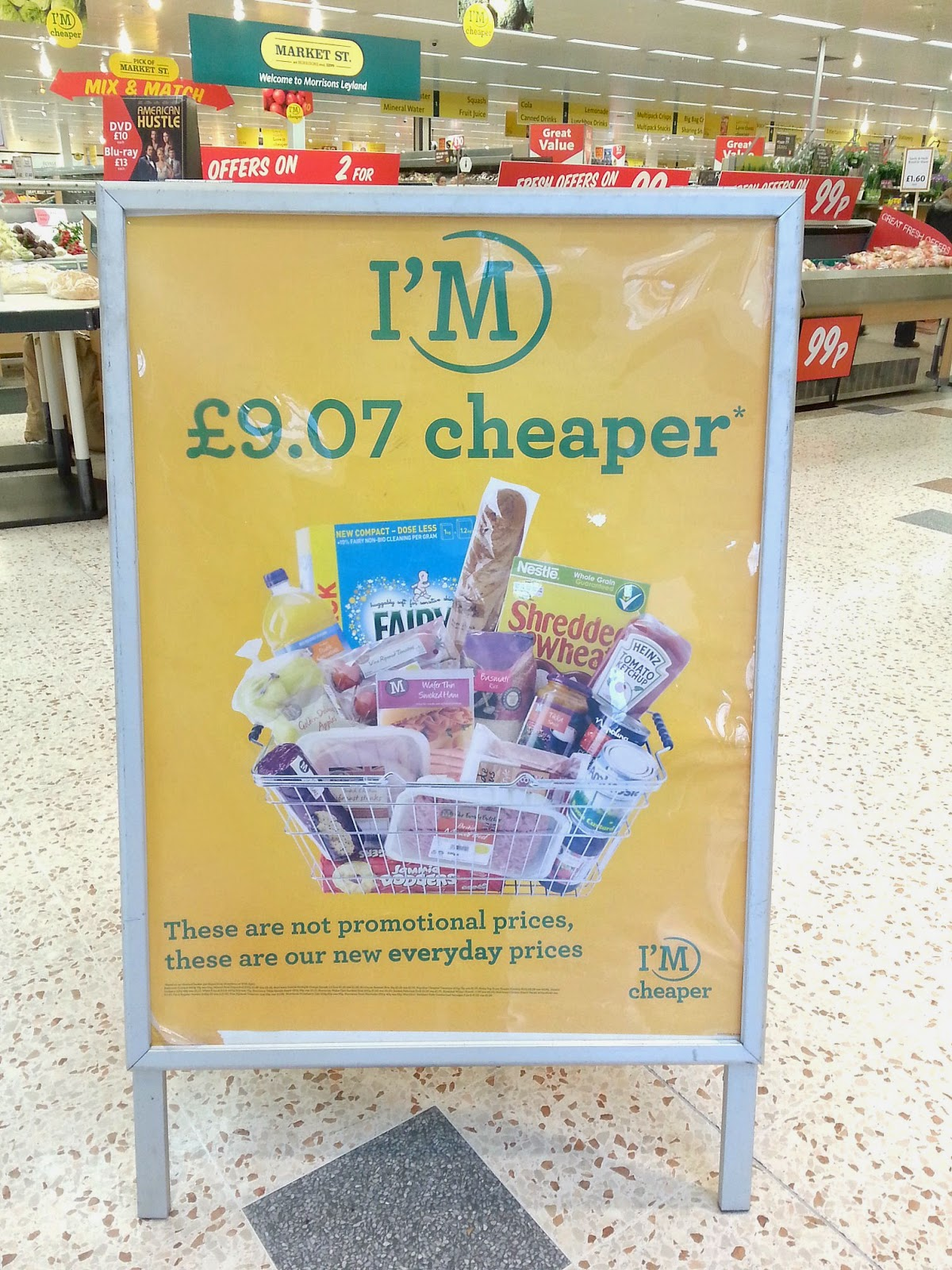#MorrisonsMum, Morrisons price cut, Morrisons I'm Cheaper products