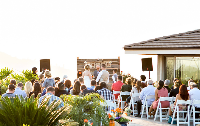 Nice Backyard Weddings San Diego