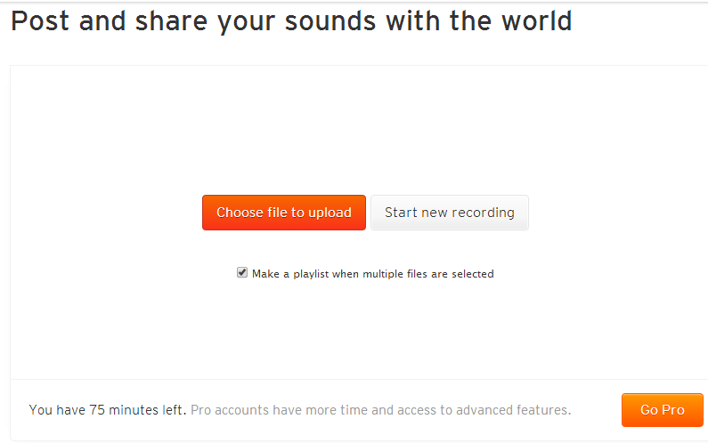 subir musica a soundcloud