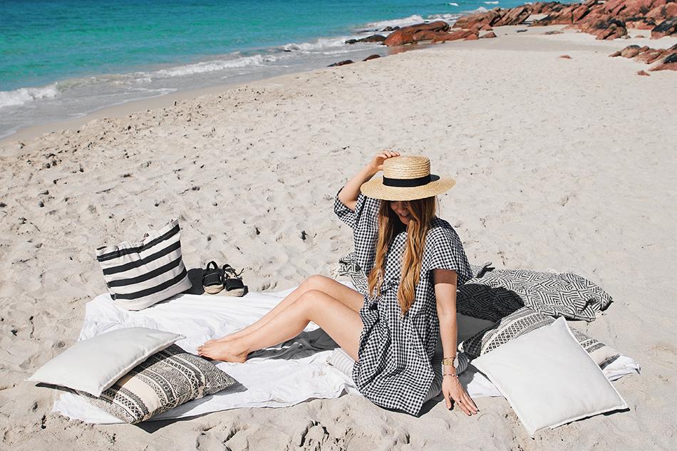 Meelup Beach, beach picnic