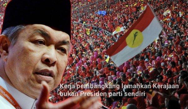 Kerja pembangkang lemahkan Kerajaan bukan Presiden parti sendiri