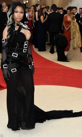 Nicki Minaj's outlook at the at the Met Gala