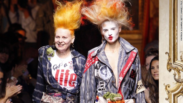 Wig Postiche Fashion Designers Inspired By The 80 S Punk Hairstyles