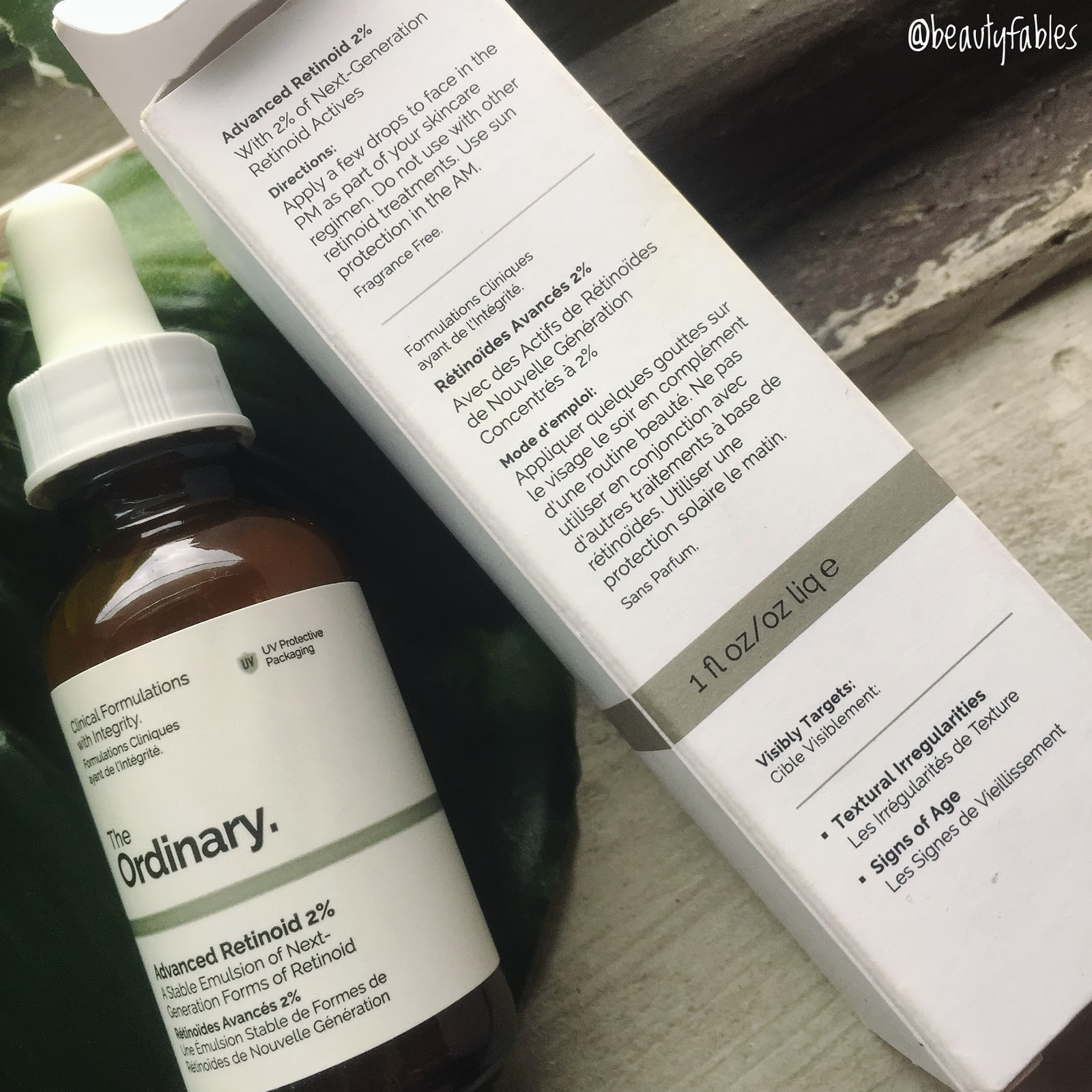 In depth Review of The Advanced Retinoid 2% by The Ordinary Abnormal Beauty Company 2