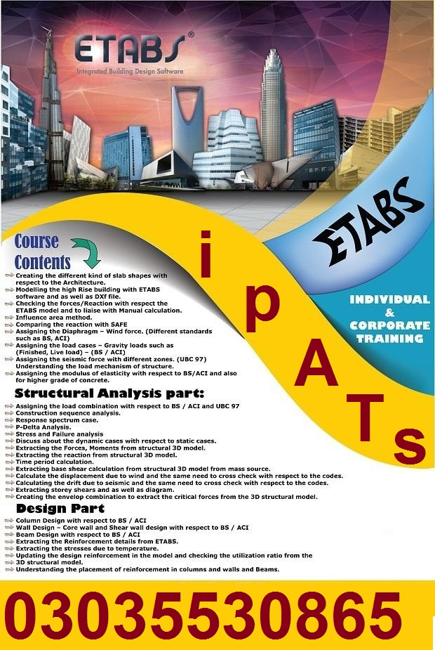 Revit 3D Advance Professional Course in Rawalpindi khanna pull 3O3-553O865