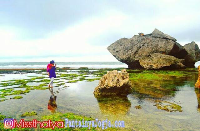 lokasi pantai nglangkap gunungkidul