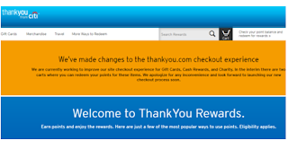 Citi ThankYou Rewards Program Login