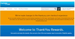 Citi ThankYou Rewards Program Login