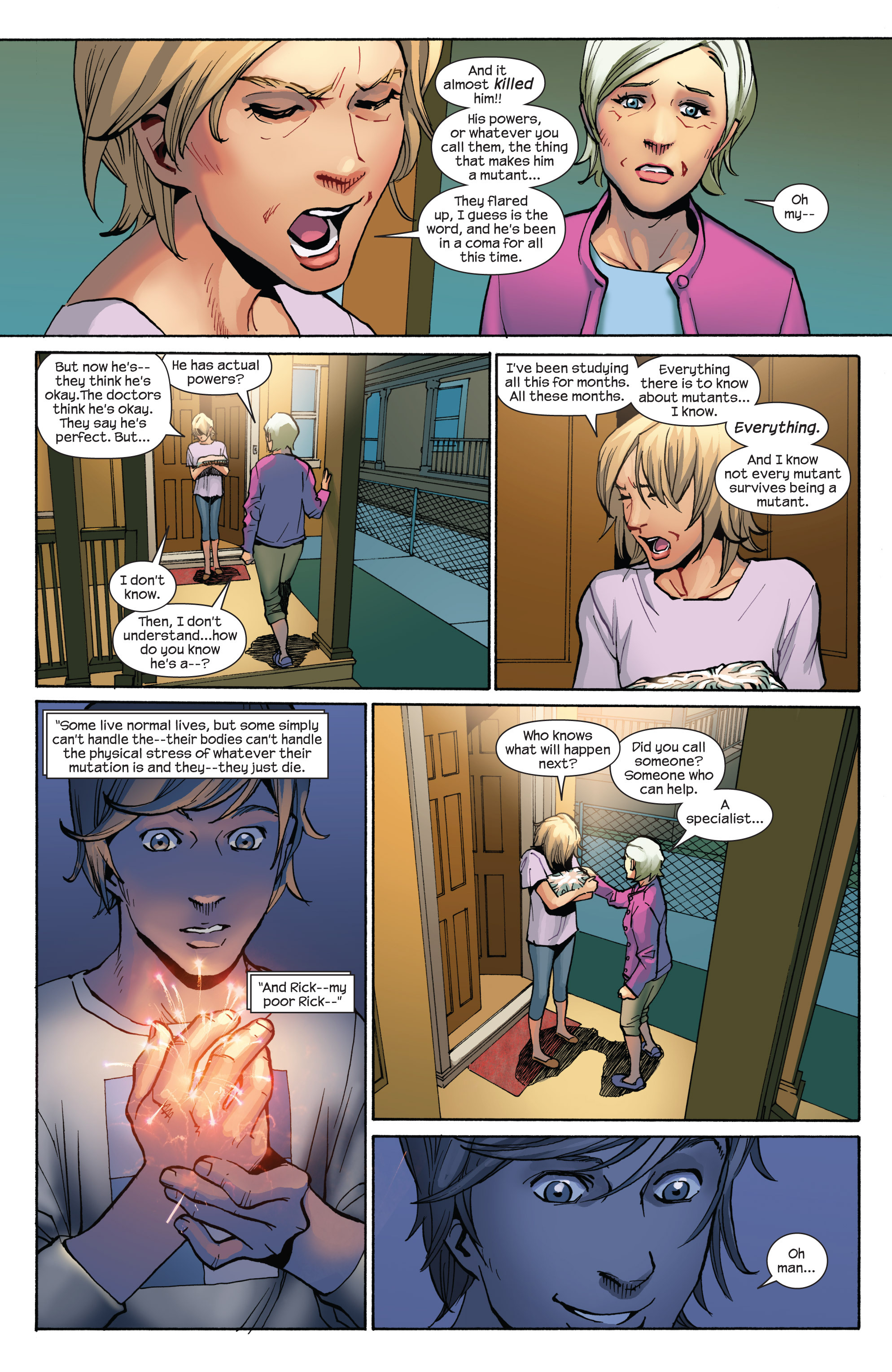 Read online Ultimate Spider-Man (2009) comic -  Issue #7 - 12