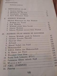 Gerakan Salafijah di Indonesia