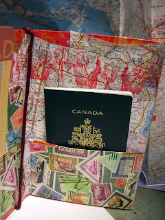 Duct Tape Passport Holder
