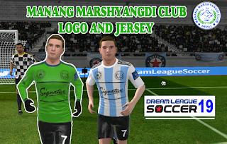 Manang Marshyangdi Club Dream League Soccer Kit 2019, Nepal Dream League Soccer kit and logo (2019)