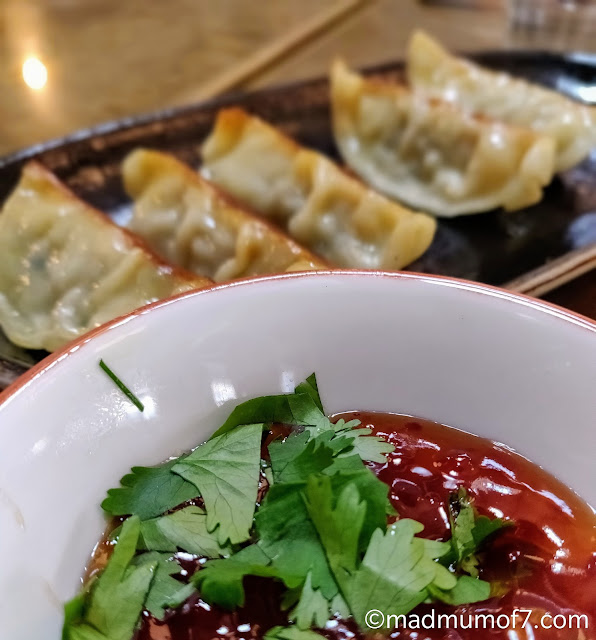 dumplings and sweet chilli sauce #MalaysianByMay