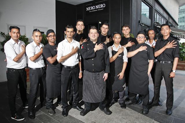 MIGF 2018 - Nero Nero Chef Team - Damansara City Mall, Kuala Lumpur