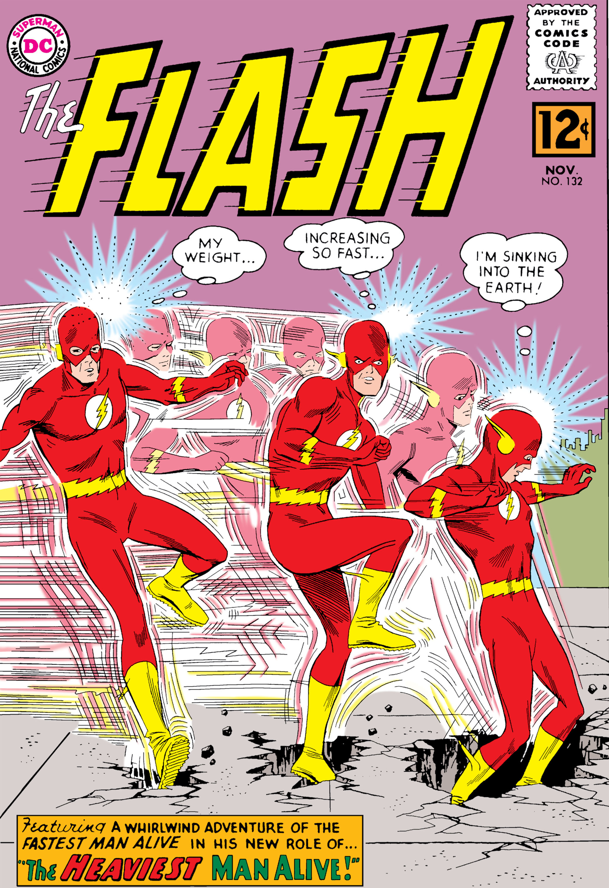 The Flash (1959) 132 Page 1