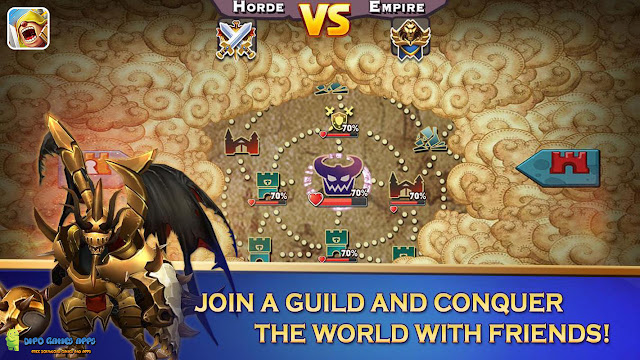 Download Clash of Lords APK Terbaru 2018