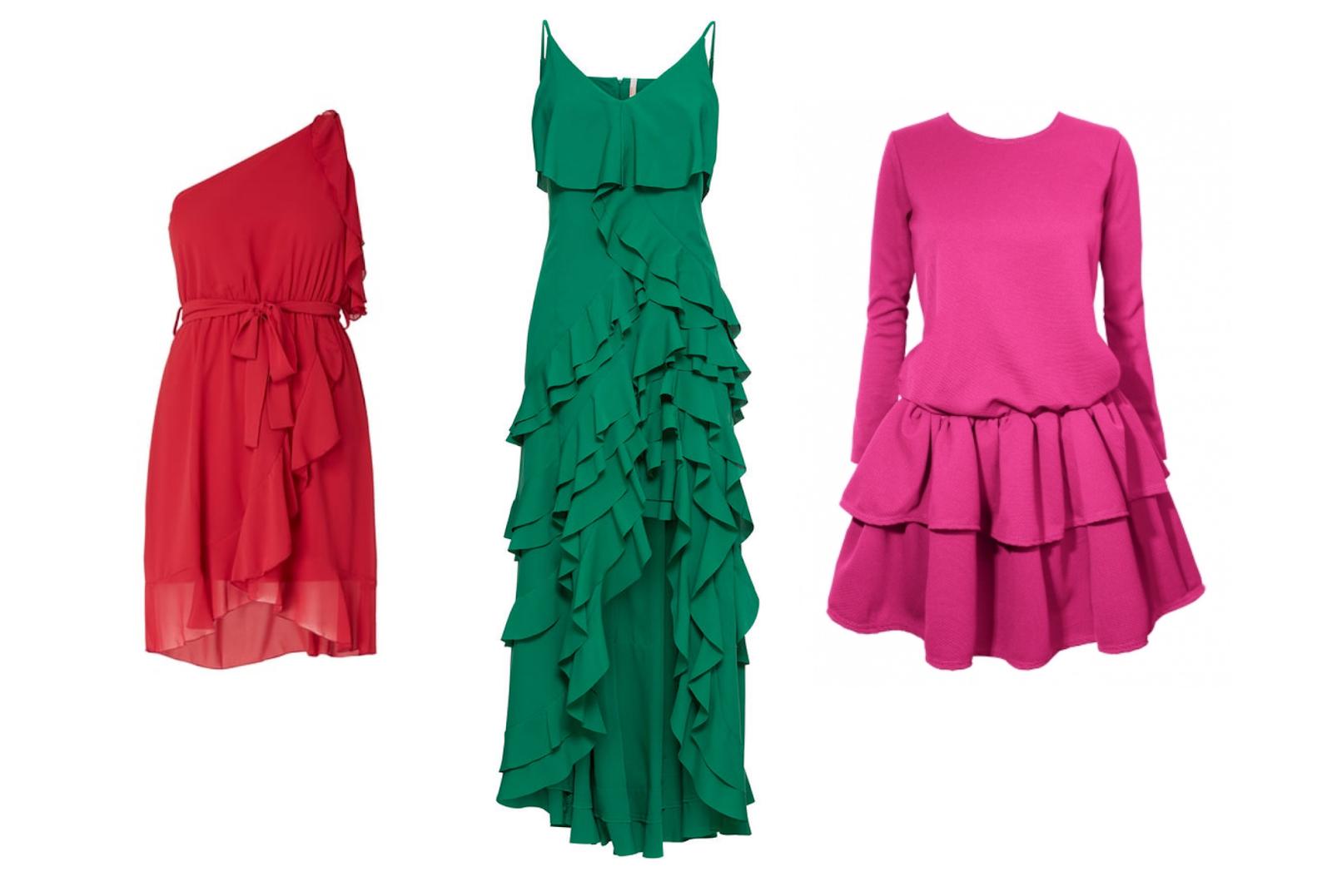 19464a278c Sukienki w żywych odcieniach są mega energetyzujące i kojarzą się z  wiosennym klimatem. Uważam