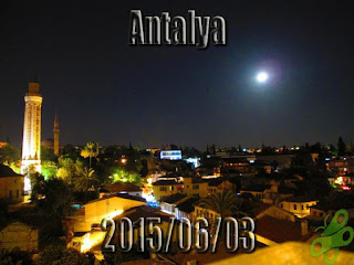 2015/06/03 Buralarda geziyorum bisiklet turu (BGBT) 20. Gün (Antalya)