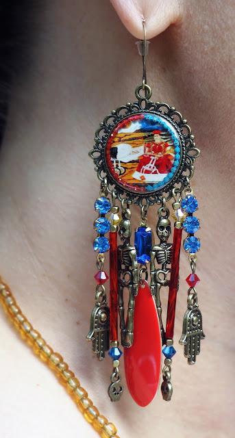 Frida Kahlo Ohrringe über Etsy